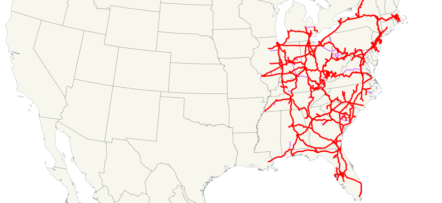 CSX-Railroad-System-Map
