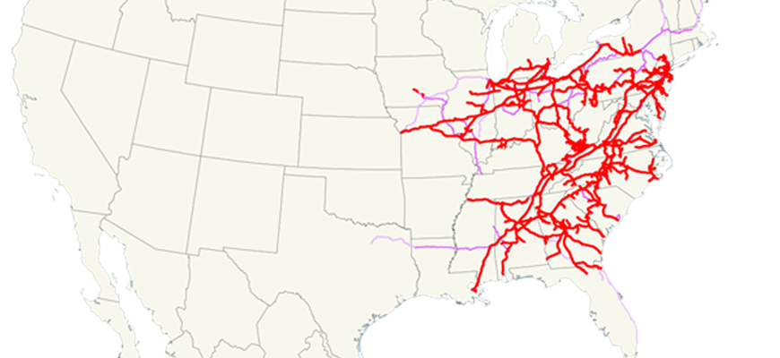 Norfolk-Southern-Railroad-System-Map