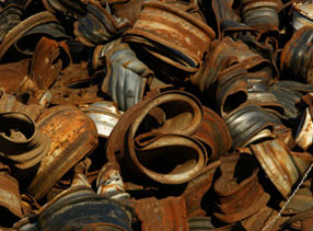 Recycled Scrap Metal Materials Automotive Scrap