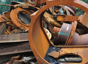 Recycled Scrap Metal Materials Obsolete Equipment
